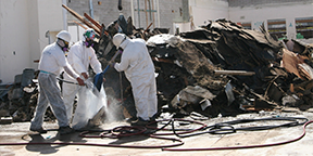 Asbestos Removal | Spray Systems Environmental